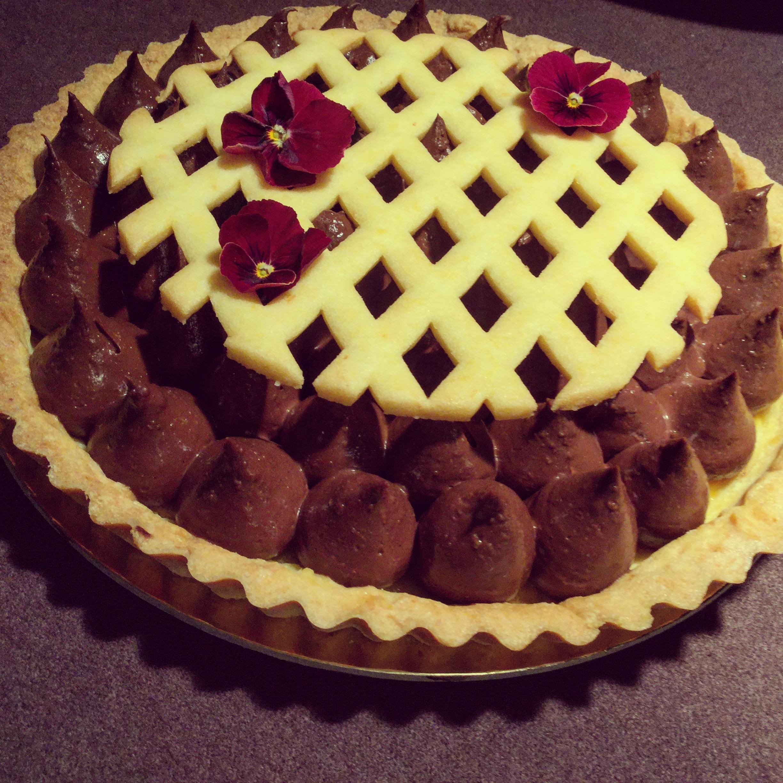 eggmilano - torta pastafrolla cioccolato