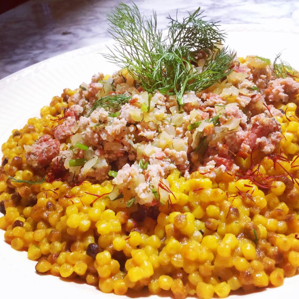 eggmilano - Fregula alla Barionese